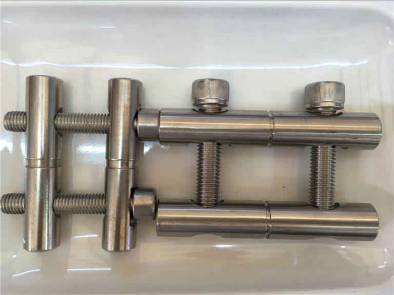 ansi 316ti / en 1.4571, 317l / en 1.4438 bagian baja stainless steel-seri rod penghubung