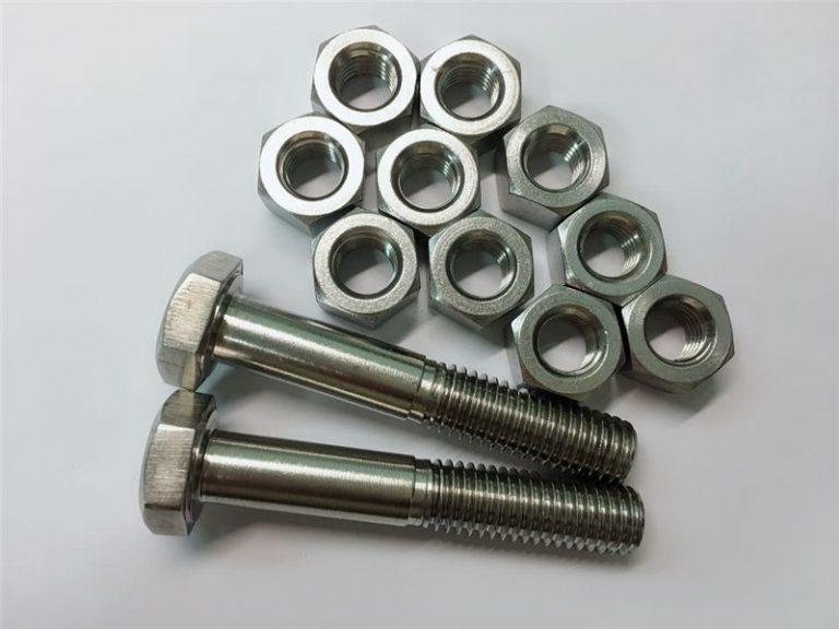 wesi 20 bolt lan kacang fastener stainless steel uns n08020