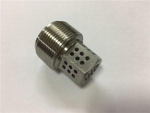 Sekrup titanium Gr5 lan pengikat kanggo industri