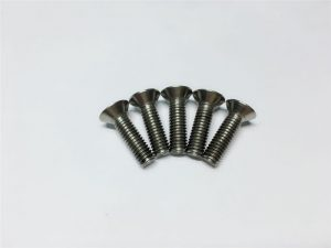 M3, M6 ngawut-ngawut ngawut-awut kepala tutup soket tutup titanium flange kanggo operasi spinal