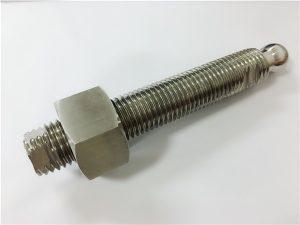No.22-Custom CNC panggilingan stainless bal bolongan stainless steel lan pengikat