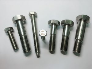 No.5-Incoloy a286 hex bolts 1.4980 a286 pengikat gh2132 stainless steel mesin hardware stainless screw