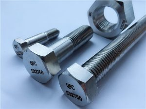 No.53-F55 S32760 1,4501 2507 PUTIHAN HEX & BOLTS