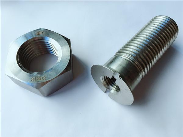 trek bolongan logam logam wesi baja lan nut