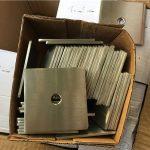 selaras super duplex s32205 (f60) mesin cuci piring tapisan / stainless steel kanthi khusus