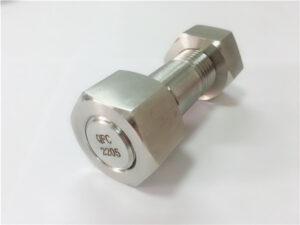 Dobel kandang stainless steel No.75-kualitas tinggi 2205