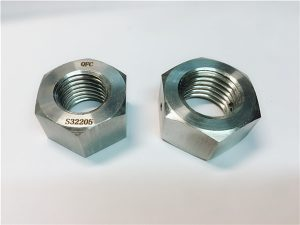 No.76 Duplex 2205 F53 1.4410 pengikat stainless steel S32750 nut hex nut