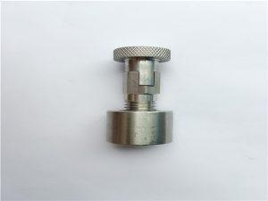 No.95-SS304, 316L, 317L SS410 Bau gerbong nganggo nut bunder, pengikat ora standar
