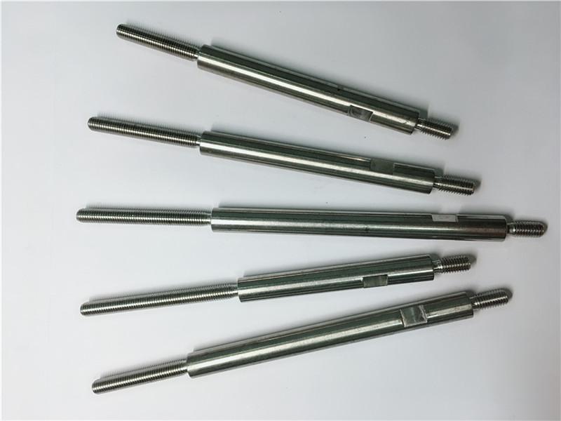 cnc presisi mesin stainless steel benang stainless