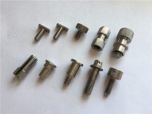 selaras skru nonstandard presisi kanthi dhuwur, stainless maching stainless steel cnc