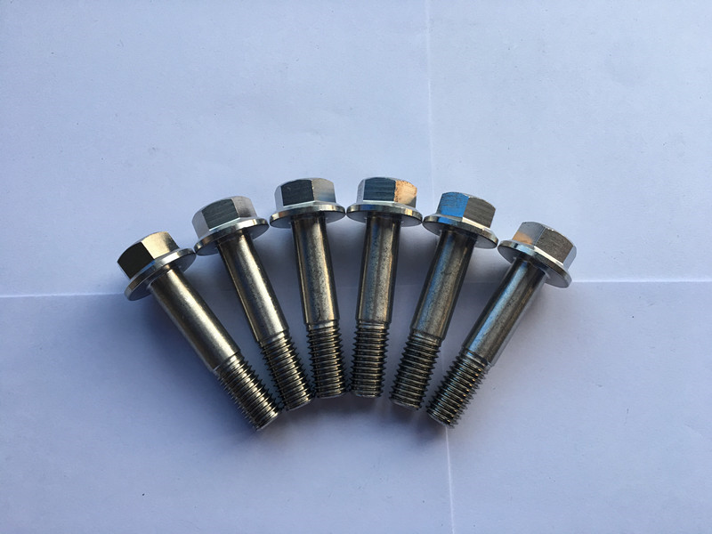 din 7504 super duplex f55 stainless steel hexagon flange head-drilling screw