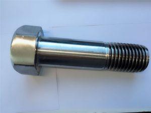 stainless steel super duplex din931 setengah benang hex bolt